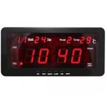 Ψηφιακό ρολόι τοίχου LED 22x10x3cm