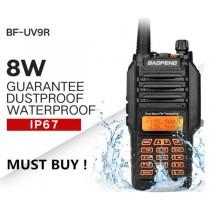 BAOFENG UV-9R PLUS 8W--ΑΔΙΑΒΡΟΧΟΣ IP67