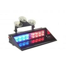 LED 629 dash lights BLUR/RED - ΜΠΛΕ/ΚΟΚΚΙΝΟ